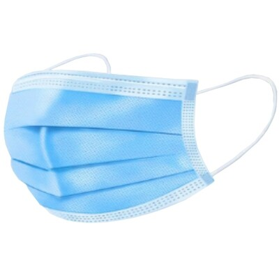 Disposable 3 Layer TYPE IIR Protective Mask - 50 masks per box (EN14683)