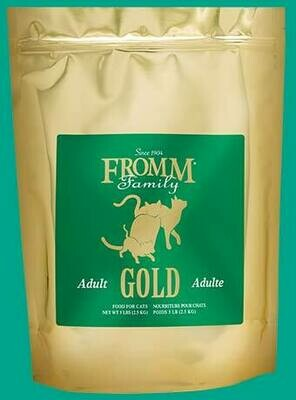 FROMM CAT GOLD ADULT 5#