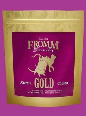 FROMM CAT GOLD KITTEN 2.5#