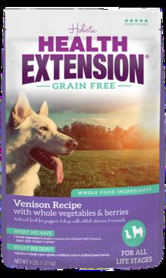 HEALTH EXT GF VENISON 4#