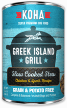 KOHA GREEK ISLAND CHIX/LAMB 12.7oz