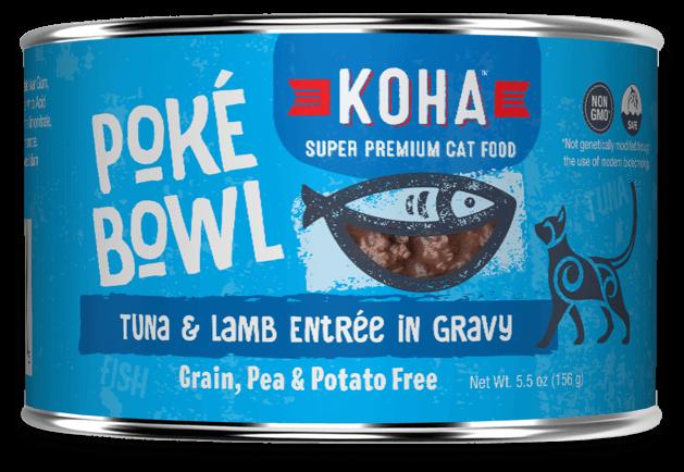 KOHA CAT POKE TUNA/LAMB 5.5oz