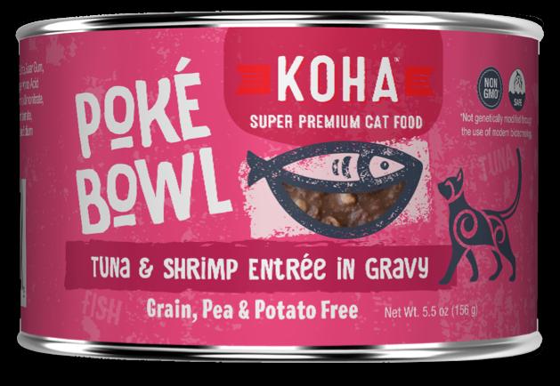 KOHA CAT POKE TUNA/SHRIMP 5.5oz