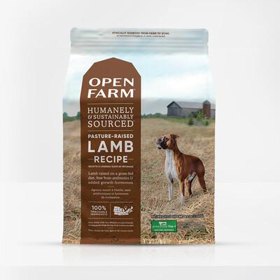 OPEN FARM DOG GF LAMB 24#