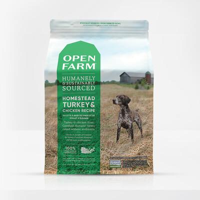 OPEN FARM DOG GF TKY/CKN 24#