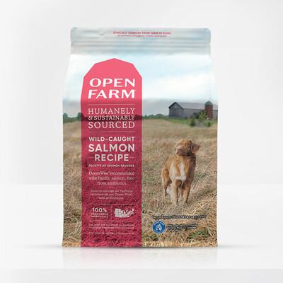 OPEN FARM DOG SALMON 24#