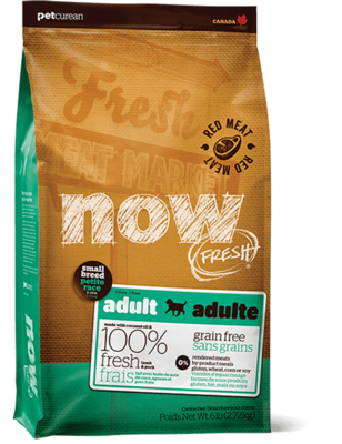 PETCUREAN NOW RED MEAT ADULT S/B 6#