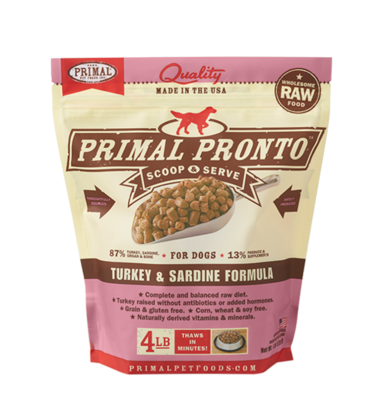 PRIMAL RAW PRONTO TKY/SARD 4#