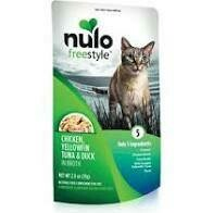 NULO CAT CHX/TUNA/DUCK 2.8oz POUCH