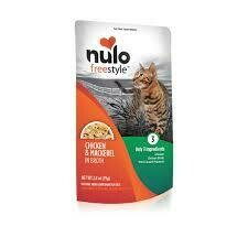 NULO CAT CHX/MACK 2.8oz POUCH