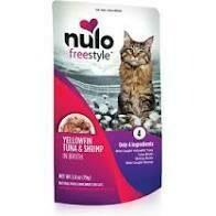 NULO CAT TUNA/SHRIMP 2.8oz POUCH