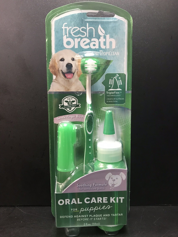 TROPICLEAN BREATH ORAL KIT PUPPIES