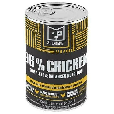 SQUAREPET 96% CHICKEN 13oz
