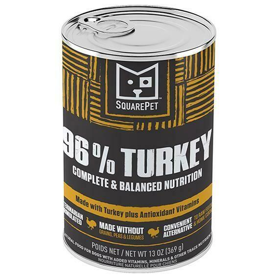 SQUAREPET 96% TURKEY 13oz