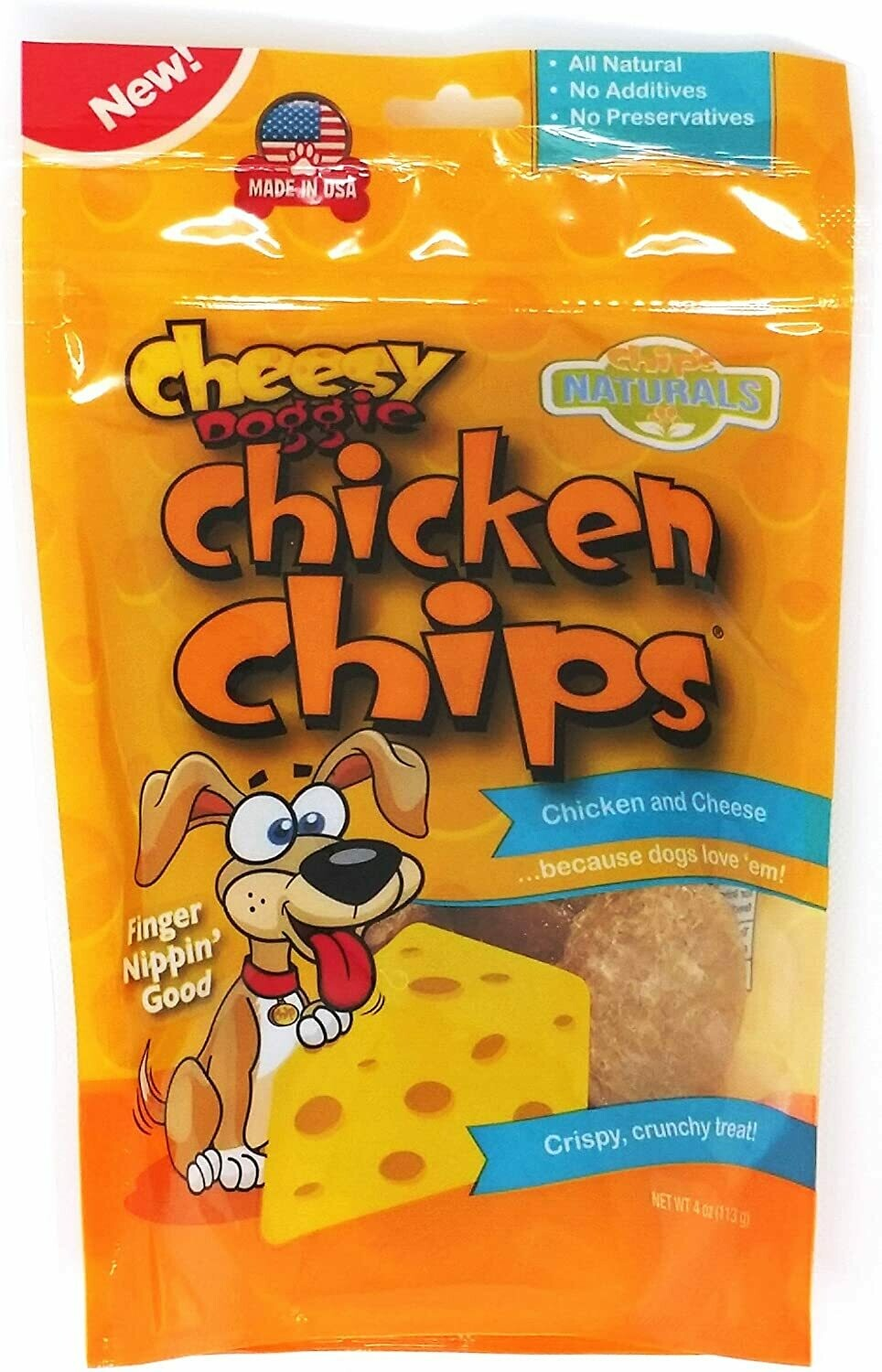 KEN CHICKEN CHIPS CHEESE SM 4oz