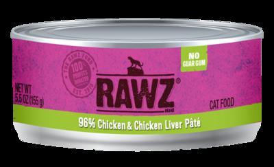 RAWZ CAT 96% CHIX LVR 5.5oz
