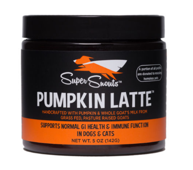 DYD SUPER SNOUTS PUMPKIN LATTE 5oz