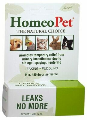 HOMEOPET LEAKS NO MORE