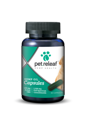PET RELEAF CBD CAP 30CT