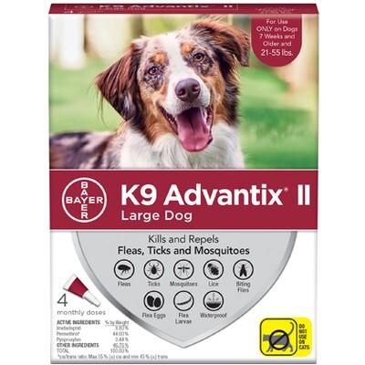 ADVANTIX DOG LG 21-55# 4pk