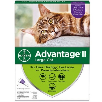 ADVANTAGE CAT LG +9# 4pk