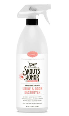 SKOUTS S/O CAT URINE & ODOR DESTROYER 32oz