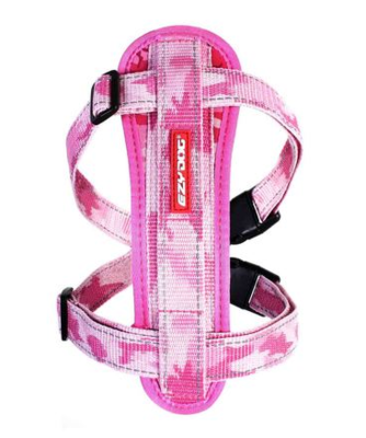 EZY CHEST PLATE PINK CAMO XS