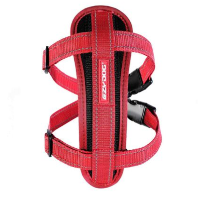 EZY CHEST PLATE RED LG
