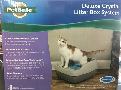 PETSAFE DELUXE LITTER BOX