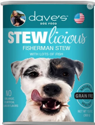 DAVES STEW FISHERMAN 13oz