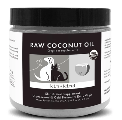 KIN + KIND COCONUT OIL 16oz