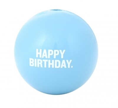 PLANET D BIRTHDAY BALL BLUE