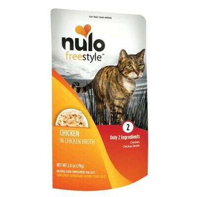 NULO CAT CHX/BROTH 2.8oz POUCH