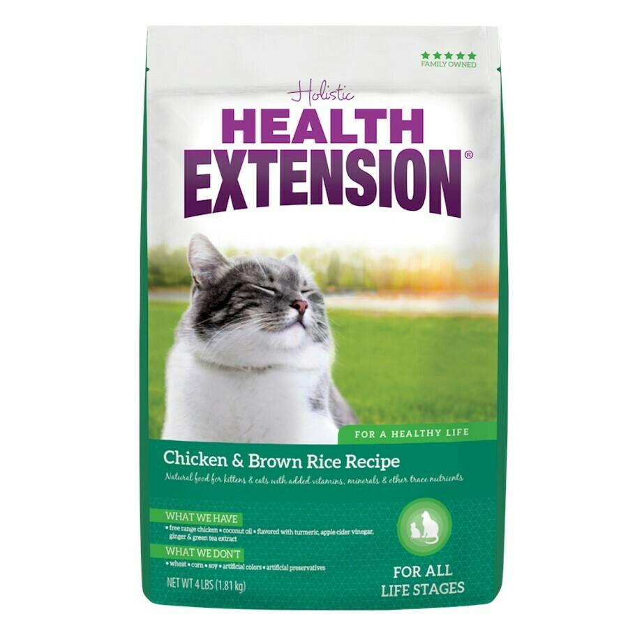 HEALTH EXT CAT CHX/RICE 15#