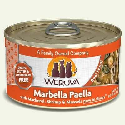 WERUVA CAT MARBELLA PAELLA 3oz