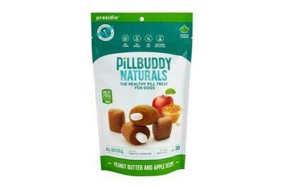 PILL BUDDY NATURALS PEANUT & APPLE 30CT