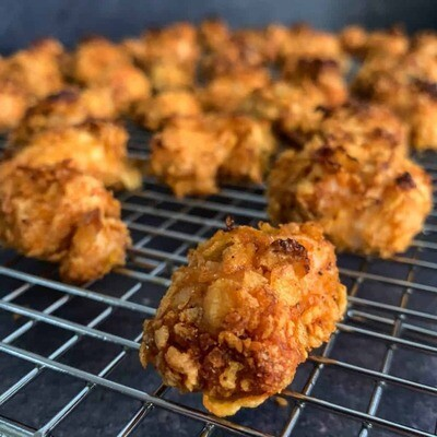 Fully Cooked Spicy Popcorn style fritters 1.5lb bag