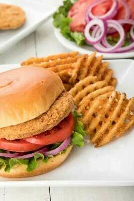 Fully Cooked Breaded Spicy Chicken Breast Patties 1.5lb bag