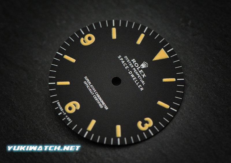 Space-Dweller 1016 matt dial