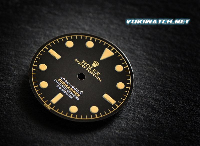 Submariner 6538 gloss dial