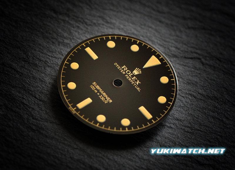 Submariner 6536 gloss dial