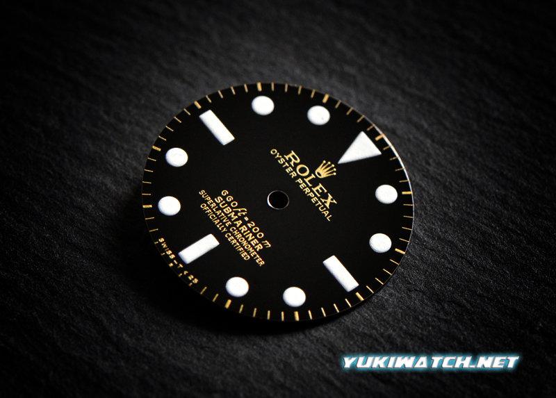 Submariner 5512 gloss dial wht lume