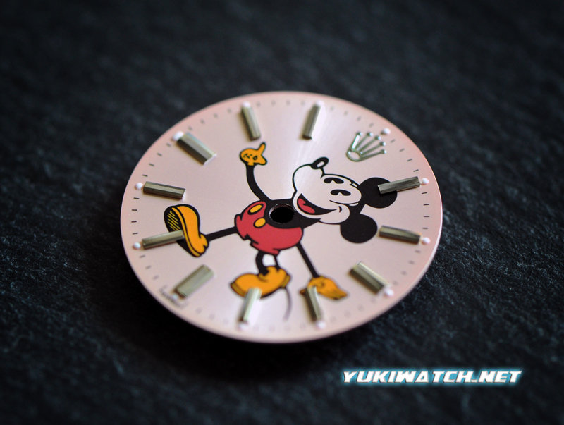 Airking 5500 cute Mickey Pink dial