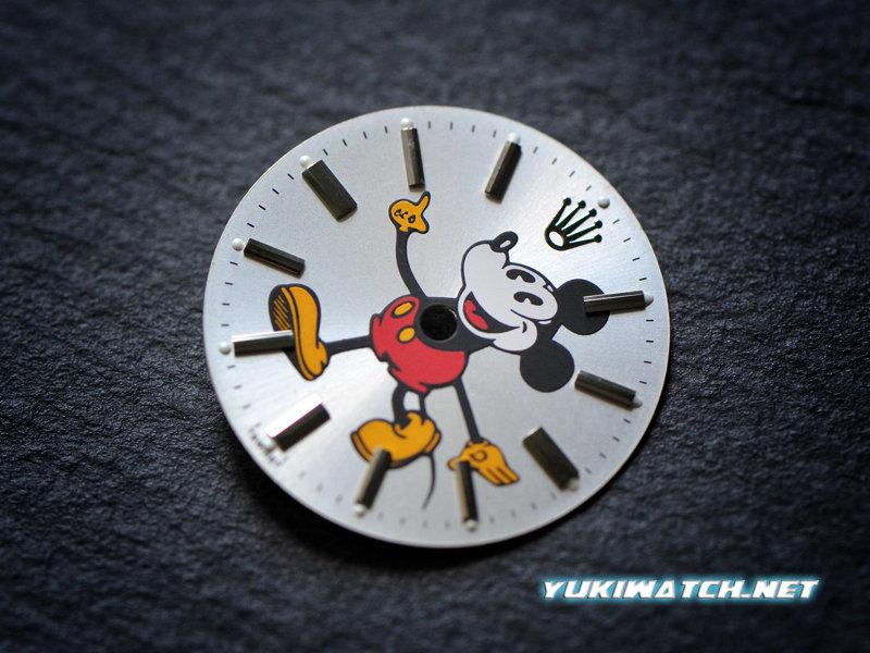 Airking 5500 cute Mickey dial
