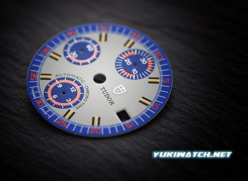 TUDOR MONTE CARLO 9420 blue w/grey dial