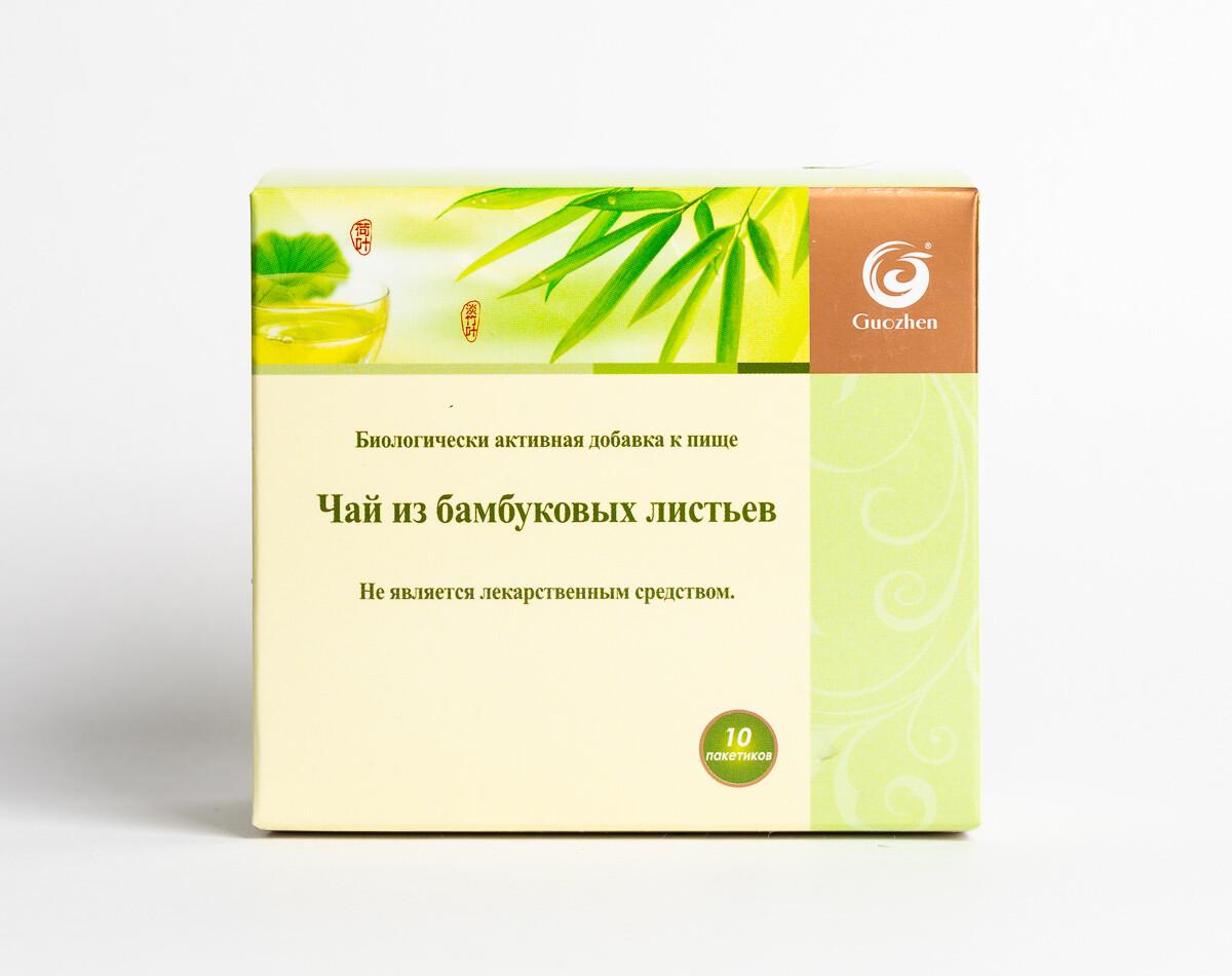 Чай из бамбуковых листьев