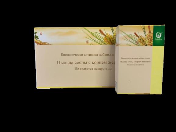 Сосновая пыльца с женьшенем