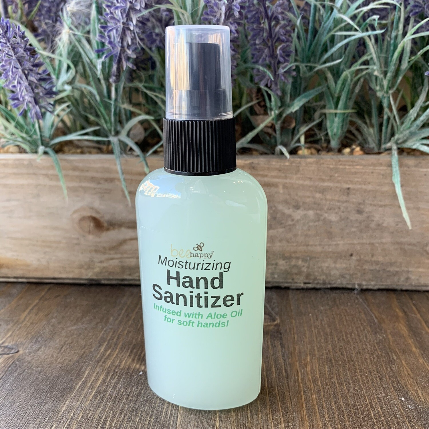 2oz Hand Sanitizer - Bee Happy
