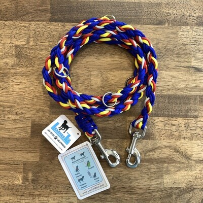Colorado Flag Inspired 6' Multipurpose Leash
