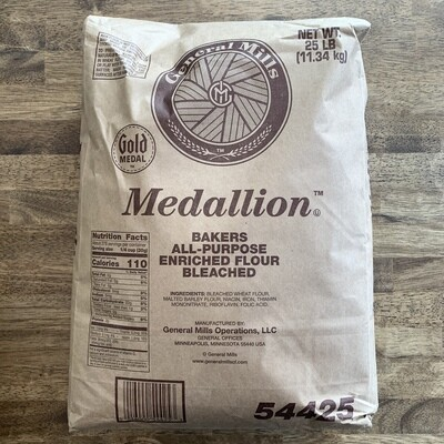 Flour H&R Medallion 25lb bag